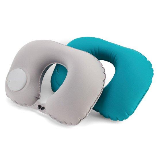 按壓充氣枕 旅行 午睡枕 無須嘴吹 生活用品 按壓式 按壓充器枕 頸枕 2002043 503 184