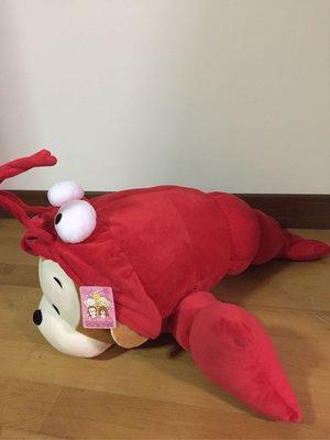 《全新》 龍蝦 猴 玩具 玩偶 巨無霸 娃娃機 絨毛娃娃 禮品 禮物 - 約25*60公分