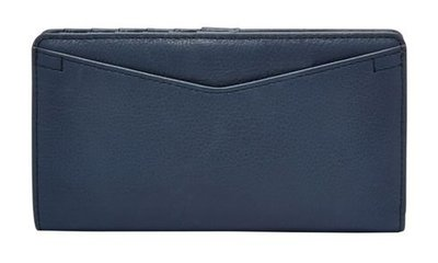 【現貨在台】FOSSIL SL7353406 RFID 深藍色 女皮夾 高雄市