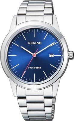 日本正版 CITIZEN 星辰 REGUNO KM3-116-71 男錶 手錶 太陽能充電 日本代購