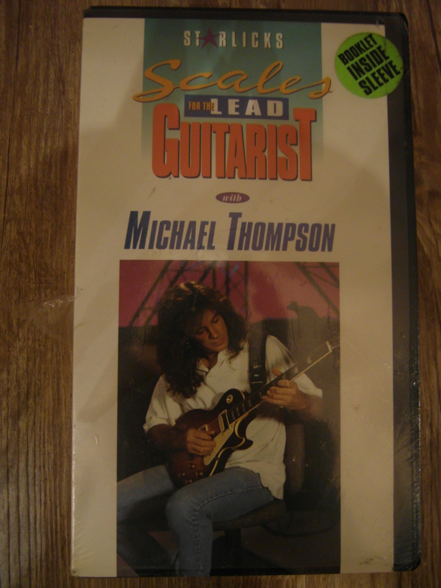 Scale for the lead guitarist with Michael Thompson