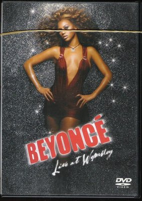 CD&DVD-BEYONCE[碧昂絲]演唱會-無歌詞-因外盒無法闔上-故用橡皮筋綁紮---