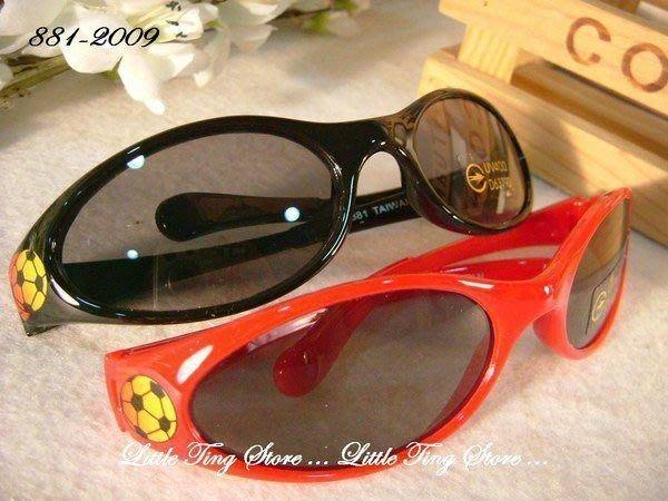 MIT 台灣製造 兒童太陽眼鏡火焰足球流線運動安全膠框眼鏡太陽眼鏡 防曬眼鏡UV400  3色