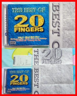 ◎1995年-20根手指-精選金曲集-等18首好歌-The Best of 20 Fingers-CD-歡迎看圖與曲目◎