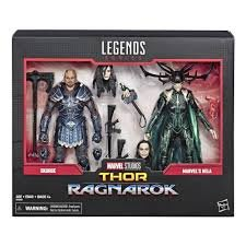 marvel legends hela skurge 2 pack figure