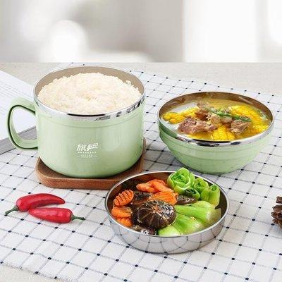 ZIHOPE 304不銹鋼保溫飯盒兒童便當盒學生餐盒大人快餐杯帶蓋碗韓國飯缸ZI812