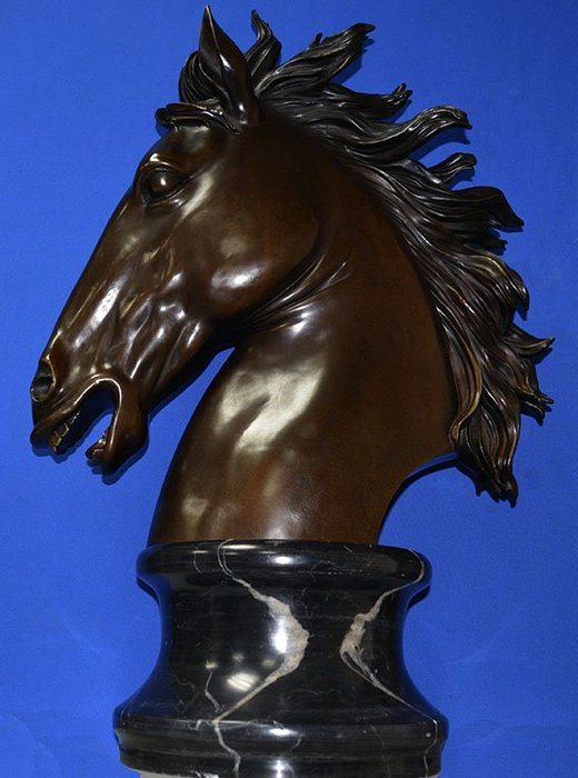 巨型銅雕 將軍馬頭,豪宅,居家,公司行號,商場擺飾,禮品,藝術品,收藏品 .