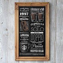 美式歐式複古做舊英文字母現代裝飾畫咖啡廳餐廳家居掛畫壁飾壁掛(兩款可選)