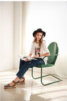 =EZZ=早班車5076 韓國 首爾時尚精品 東大門同步上新 短袖圓領套頭t恤 大碼寬鬆顯瘦女上衣