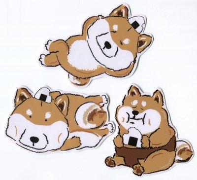 小飯糰 柴柴大型防水貼紙 崩壞全系列 柴犬行李箱貼紙