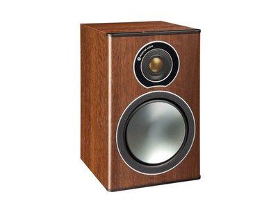 新竹推薦 名展音響 英國Monitor Audio  銅Bronze 1 書架型喇叭/對