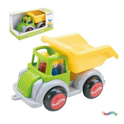 【晴晴百寶盒】瑞典進口 大型翻斗車/急救消防車 VIKINGTOYS 男孩最愛 車車控 禮物益智遊戲玩具高品質W207