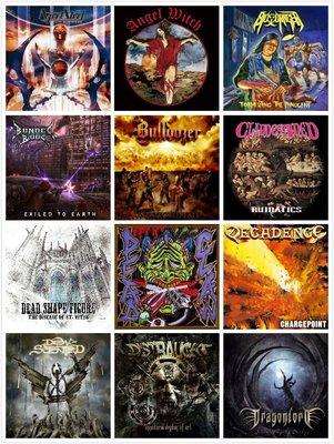 【搖滾帝國】鞭擊金屬 Thrash Metal 日版專輯 Persuader / Hatriot / Farcry 等等
