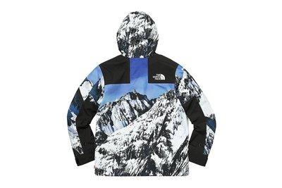 【Club Design】SUPREME X TNF THE NORTH FACE 聯名款 雪山 衝鋒衣