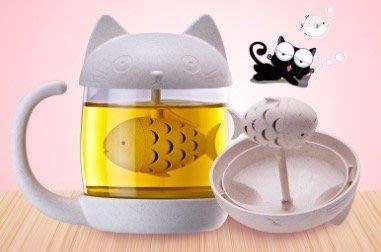【生活小魷魚】✨現貨不用等✨ 貓咪玻璃杯/泡茶杯