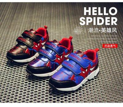 東大門平價鋪  新款蜘蛛俠男童鞋,5歲--16歲兒童休閒運動鞋,小男孩加絨棉鞋