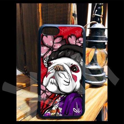 法鬥 手機殼 日本 藝妓 iPhone X 8 7 6 Plus 三星 S7 S8 PLUS OPPO R9S R11