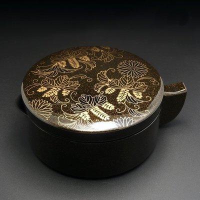 ✠福來緣✠日本進口開明墨池(金) 墨盒筆洗 漆器風格 毛筆書畫用品 文房四寶