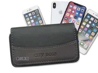 HTC Desire 12+ 手機腰掛式皮套 腰掛皮套 手機皮套 腰夾皮套 橫式皮套 磁扣皮套 手機套 R3
