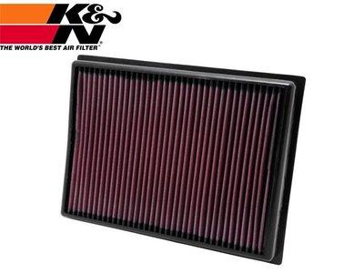 【Power Parts】K&N 高流量原廠交換型空氣濾芯 33-2438 TOYOTA LAND CRUISER