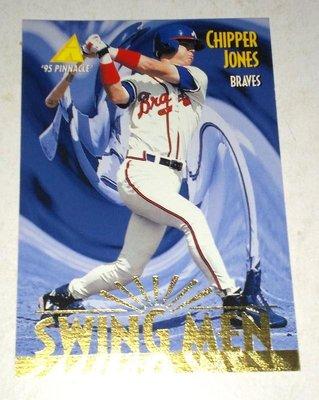 [五星上將] PINNACLE'95 NO.303 Chipper Jones