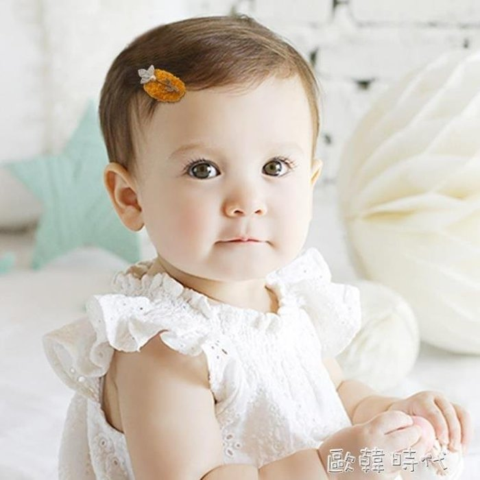 麥麥部落 兒童發飾女童頭飾正韓可愛風風萌萌噠寶寶公主發MB9D8