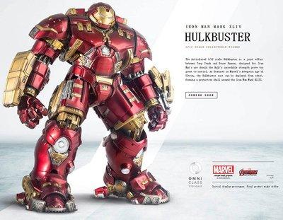 出清特價 全新 Comicave Studios 1/12 浩克毀滅者 MK44 鋼鐵人  Iron Man 合金可發光