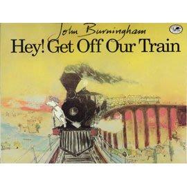 【書+My little library CD】HEY GET OFF OUR TRAIN~  OI GET OFF OUR TRAIN 喂!下車~汪培珽