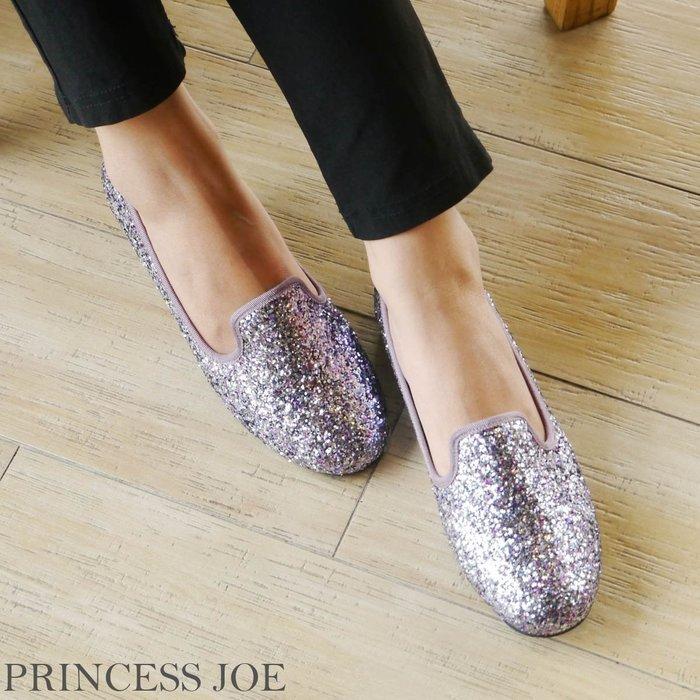 ☆╮喬伊公主╭☆【TJ155513】專櫃2780古星光閃閃低調明洞風-福樂鞋超軟鞋窩設計台灣製