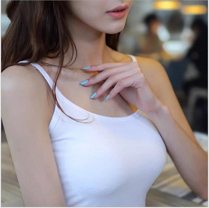 【今日下殺】韓版小吊帶背心薄女士40支莫代爾蘭精純棉運動內衣打底穿廠家直銷 ftrfwf