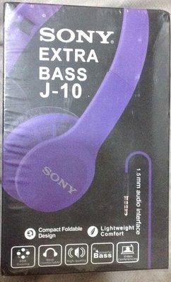 全新Sony Extra Bass J-10耳罩式耳機