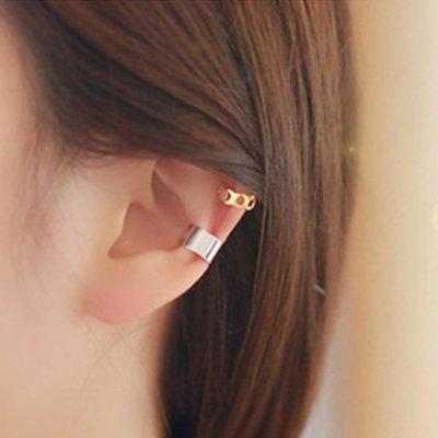 耳環耳飾品時尚飾品心形星星月亮波浪形圓形光面無耳洞耳夾耳飾個性百搭19/6/24