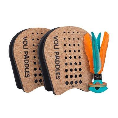 瑞典[WABOBA] Voli Racket Set / 毽子玩具組合包