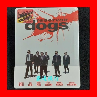 【BD藍光】霸道橫行:1/4紙套限量鐵盒版(台灣繁中字幕)Reservoir Dogs追殺比爾黑色追緝令導演
