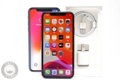 【高雄青蘋果3C】Apple iPhone X 256G 256GB 太空灰 5.8吋 iOS 13.6 #60264
