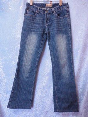 CHIEFTAIN JEANW~燙鑽口袋彈性牛仔褲~SIZE:M~99元起標