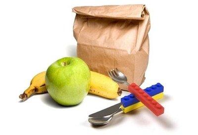 樂高餐具 #刀叉 #餐具 #樂高 #lego #煮食 #廚房 #kitchen #小童 #兒童  *一套3件 8915#3