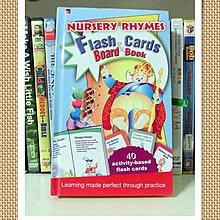 *【兒童英語繪本】*小pen外文童書~~Nursery Rhymes +40 Flash Cards