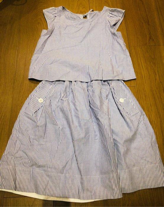 Blue label 日本藍標 橫條套裝