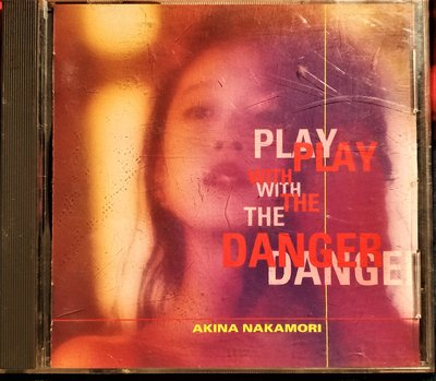 中森明菜 --- PLAY WITH THE DANGER~ROCK COLLECTION~  - 日版二手絕版CD