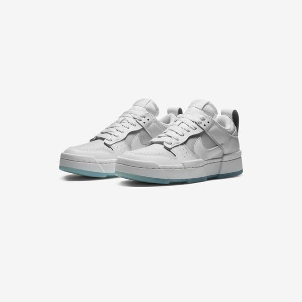 WMNS NIKE DUNK LOW DISRUPT Photon Dust白灰解構CK6654-001