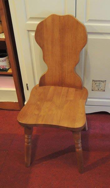 溫馨小舖J&J Store》鄉村風*/原木餐桌椅 餐椅 電腦椅 書桌椅 實木椅子/米樂椅 曲木椅