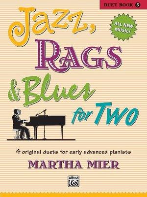 【599免運費】Jazz, Rags & Blues for Two, Book 5 Alfred 00-38829