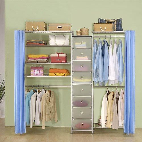 【中華批發網DIY家具】D-62A-09-W2型60+pp+W4型90衣櫥置物櫃-(前罩)不織布