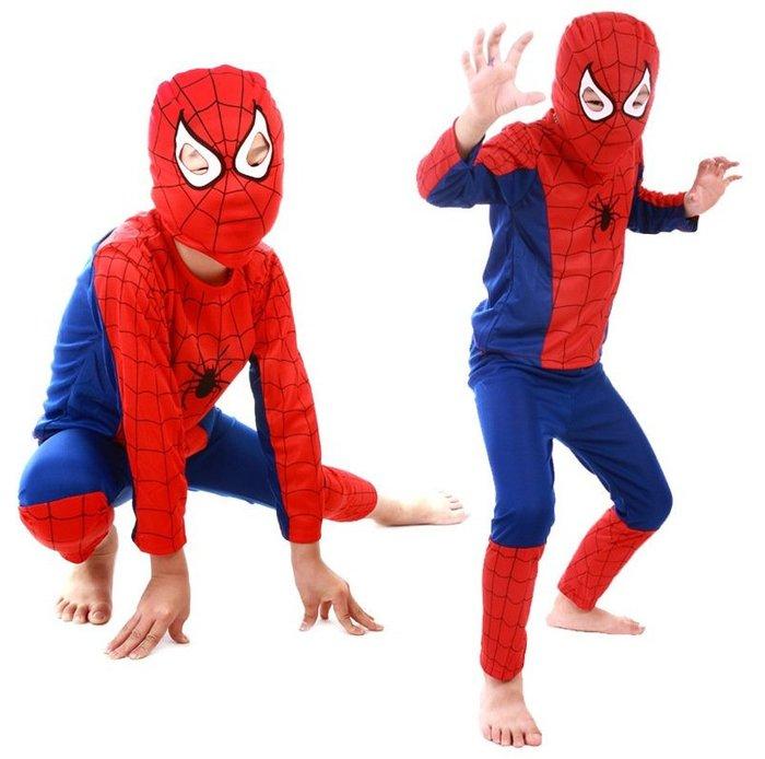 【衣Qbaby】萬聖節服裝角色扮演 #蜘蛛人#蝙蝠俠 表演服套裝