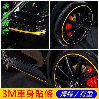 LUXGEN納智捷SUV7【U7鋼圈邊條貼】鋁圈膠條貼紙 輪框膠條 紅色飾條 黃色線條 輪胎胎皮貼膜 3M碳纖維卡夢貼紙