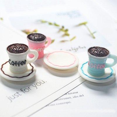 現貨 食玩咖啡杯 碟子 樹脂配件手工材料 微景觀仿真迷你diy飾品