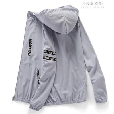 ZIHOPE 夏季防曬衣男士外套超輕薄透氣戶外防曬服女防紫外線運動皮膚風衣ZI812
