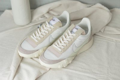 "NIKE WAFFLE RACER LX SERIES QS ""PALE IVORY"" CW1274-100 女鞋"