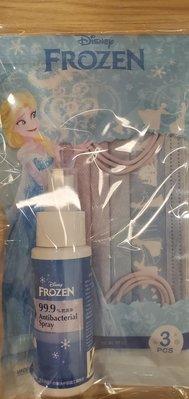 中衛 x 迪士尼 聯名 口罩 冰雪奇緣 袋裝組合 附抗菌噴霧 Disney CSD 防疫 紀念包 玩色 雪花 月河 國慶 時裝週 巴黎 台灣製造 成人 單一尺寸